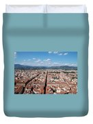 Florence From The Duomo Duvet Cover