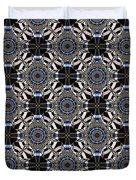Florentine Colonnade Symmetry Duvet Cover