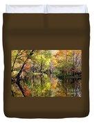Florida Autumn Secret Duvet Cover