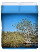 Florida Everglades 8 Duvet Cover