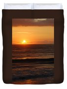 Florida Sunrise Duvet Cover