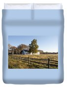 Flourtown Morning Duvet Cover