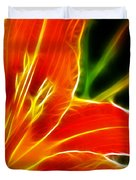 Flower - Lily 1 - Abstract Duvet Cover