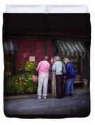 Flower - The Garden Club  Duvet Cover