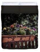 Flower Box Duvet Cover