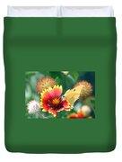 Flower Butterfly Duvet Cover