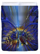 Flower In The Abstract Light Fx  Duvet Cover