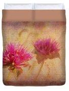 Flower Memories Duvet Cover