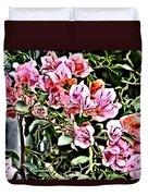 Flower Painting 0003 Duvet Cover