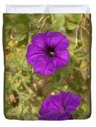 Flower Painting 0006 Duvet Cover
