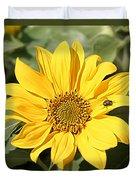 Flower Painting 0010 Duvet Cover