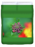 Flower Pop Duvet Cover