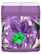 Flower1 Duvet Cover