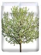 Flowering Apple Tree Duvet Cover