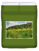 Flowering Fields Duvet Cover