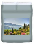 Flowers And Trees Duvet Cover