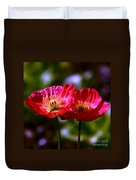 Flowers Are For Fun Duvet Cover