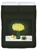 Flowers For Mother Duvet Cover
