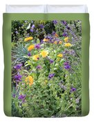 Flowers In Charlottenburg Palace Garden Duvet Cover
