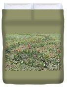 Flowers In Spring Duvet Cover