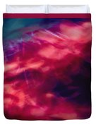 Flowers In The Wind Duvet Cover