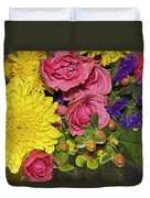 Flowers Of Summer Duvet Cover