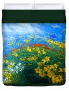 Flowery Sky Duvet Cover