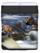 Flowing River IIi Duvet Cover