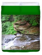 Flowing Water Duvet Cover