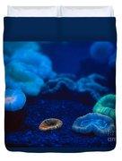 Fluorescent Corals Duvet Cover