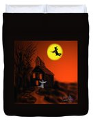 Fly By Night Duvet Cover by Kevin Caudill