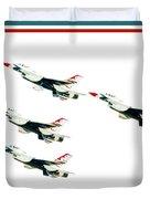 Flyby Duvet Cover