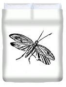 Flying Insect Duvet Cover