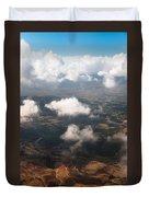 Flying Over Spanish Land Iv Duvet Cover