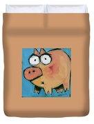 Flying Pig 1 Duvet Cover