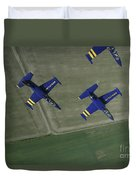 Flying With The Aero L-39 Albatros Duvet Cover