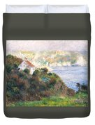 Fog On Guernsey Duvet Cover