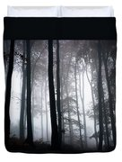 Foggy Woods Ireland Duvet Cover