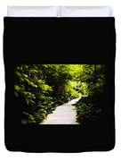 Follow Your Path Duvet Cover