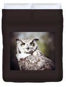 Followed Owl Duvet Cover