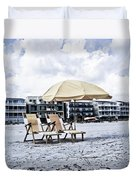 Folly Beach Duvet Cover