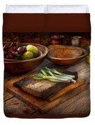 Food - Vegetable - Garden Variety Duvet Cover