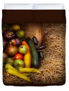 Food - Vegetables - Very Early Harvest Duvet Cover