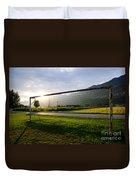 Football Goal Duvet Cover