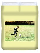 Footballer Duvet Cover
