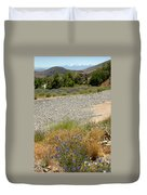 For Purple Mountain Majesties Duvet Cover