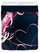 For The Love Of Music Duvet Cover