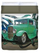 Ford Abstract Duvet Cover