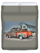 Ford At The U We Wash Duvet Cover