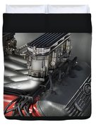 Ford Engine Duvet Cover